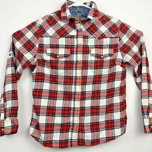 Jachs Girlfriend Bea Womens Flannel Western Shirt